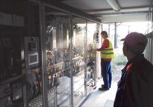 PROIECT SAPIEM CONTROL PARC FOTOVOLTAIC 1,28 MW STATIE INVERTERE EMERSON