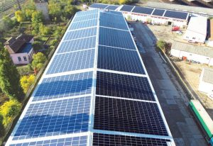 PROIECT SAPIEM CONTROL PARC FOTOVOLTAIC 0,78 MW REALIZAT PE ACOPERIS