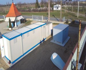 PROIECT REROPAM PARC FOTOVOLTAIC 0,64 MW STATIE INVERTERE SOCOMEC SI PUNCT DE CONEXIUNE